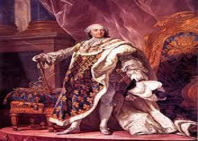 وفاة لويس الخامس عشر (Louis XV) ملك فرنسا