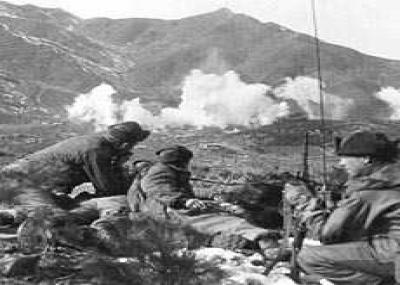 القوات اليابانية تغزو كوريا