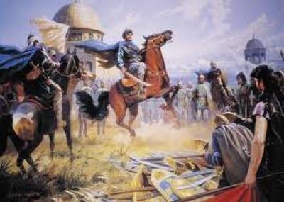 فتح عكا على يد المسلمين