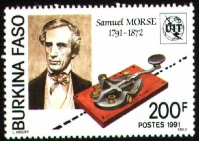 صمويل مورس يرسل أول برقية في التاريخ