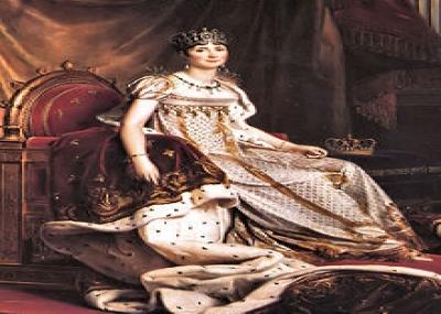 ولدت الإمبراطورة جوزفين إمبراطورة فرنسا