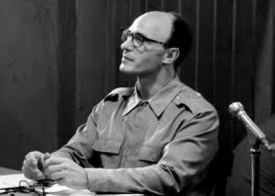 """إعدام أدولف أيخمان """"Adolf Eichmann"""" """"مهندس المحرقة"""""""