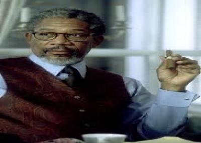 """ولد الممثل الأمريكى مورغان فريمان """"Morgan Freeman"""""""