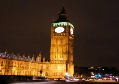 """بدأ عمل ساعة بيج بن """"Big Ben"""" في لندن"""