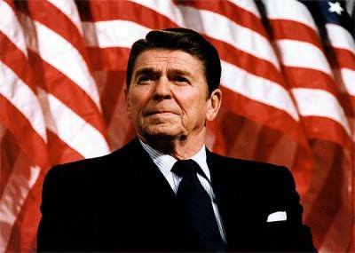 """وفاة رونالد ريغان """"Ronald Reagan"""" الرئيس الأربعين للولايات المتحدة الأمريكية"""