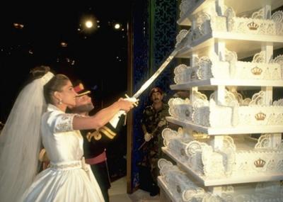 زفاف الملك عبد الله الثاني على الملكة رانيا العبد الله