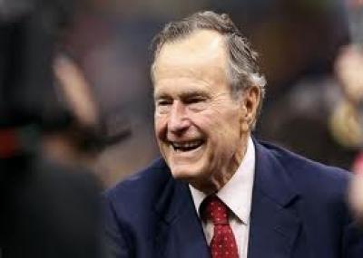 """ولد رئيس الولايات المتحدة جورج بوش الأب """"George H. W. Bush"""""""