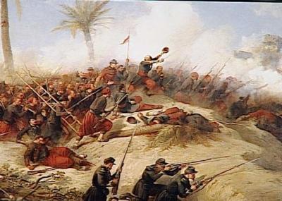 بدء الاحتلال الفرنسي للجزائر