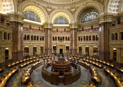 إنشاء مكتبة الكونغرس