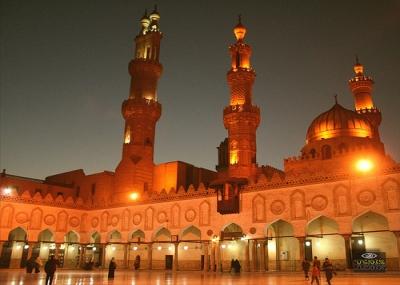 افتتاح الجامع الأزهر للصلاة