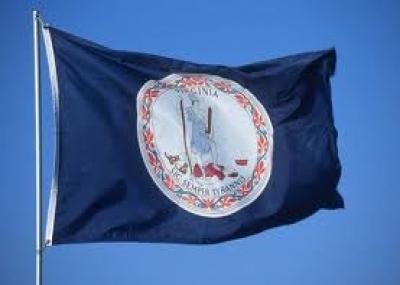 فيرجينيا تصبح عاشر ولاية تنضم إلى الولايات المتحدة