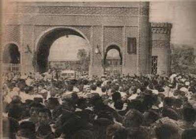 إندلاع ثورة المفتي عبد الغني آل جميل ضد الوالي العثماني في بغداد