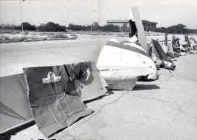 إسقاط البحرية الأميركية طائرة مدنية إيرانية ما أسفر عن مقتل جميع ركابها