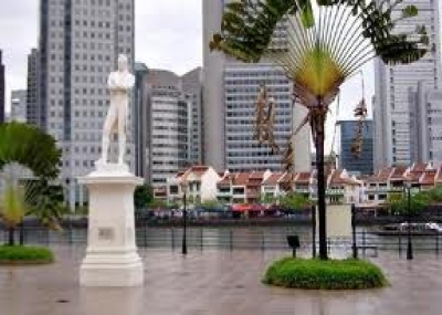 """ولد مؤسس سنغافورة الحديثة توماس رافلز """"Sir Thomas Raffles"""""""
