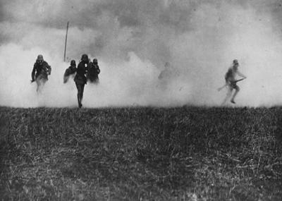 استخدام غاز الخردل لأول مرة في الحروب