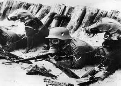 استخدام غاز الخردل لأول مرة في الحرب العالمية الأولى