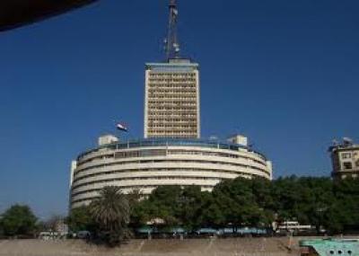 بدأ البث بالتلفزيون المصري