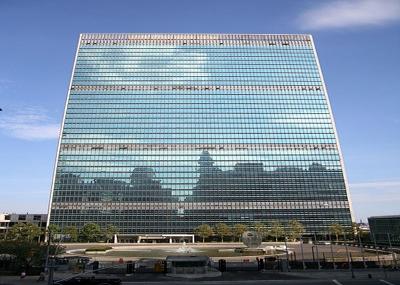 مندوبو خمس وأربعين دولة يجتمعون في سان فرانسيسكو لوضع أسس وميثاق هيئة الأمم المتحدة