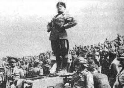 """ولد رئيس إيطاليا بينيتو موسوليني """"Benito Mussolini"""""""