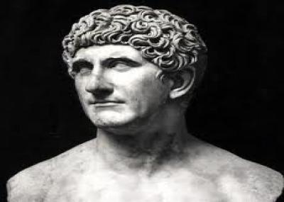 """وفاه ماركوس أنطونيوس """"Marcus Antonius"""""""