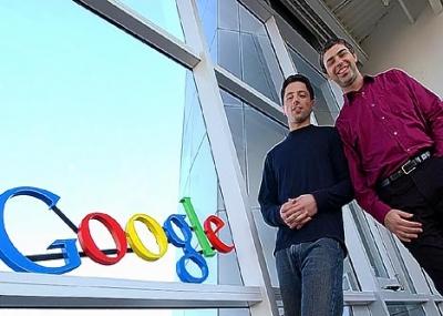 سيرجي برين ولاري بايج يؤسسان جوجل Google