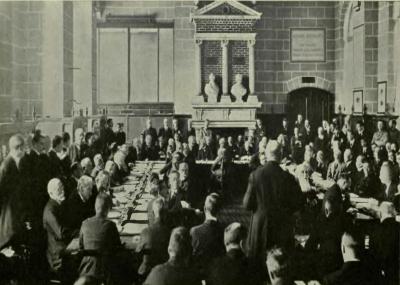 توقيع معاهدة سان جرمان Treaty of Saint-Germain