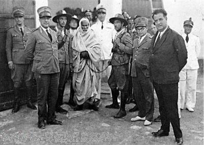 الإيطاليون يلقون القبض على المجاهد الليبي عمر المختار