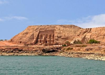الانتهاء من أعمال إنقاذ معبد أبوسمبل