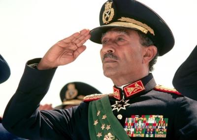 السادات رئيسا لمصر بعد وفاة الرئيس جمال عبد الناصر